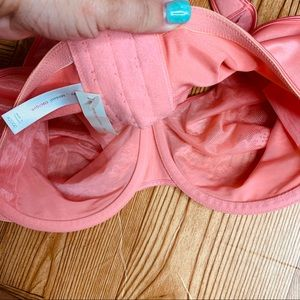Cacique Intimates & Sleepwear - Cacique NEW pink lace full coverage bra 42DDD
